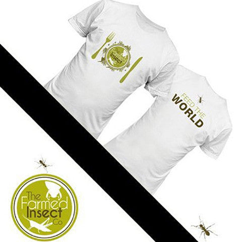 Feed The World Tee - Natural History Direct Online Shop - 1