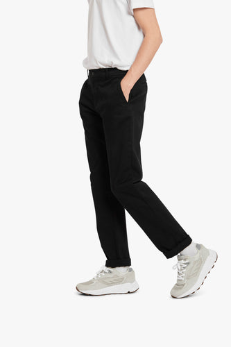 Woodbird Bruce Worker Trousers Pants Black