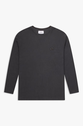 Woodbird Gong Vel Sweat Sweats Anthracite Grey