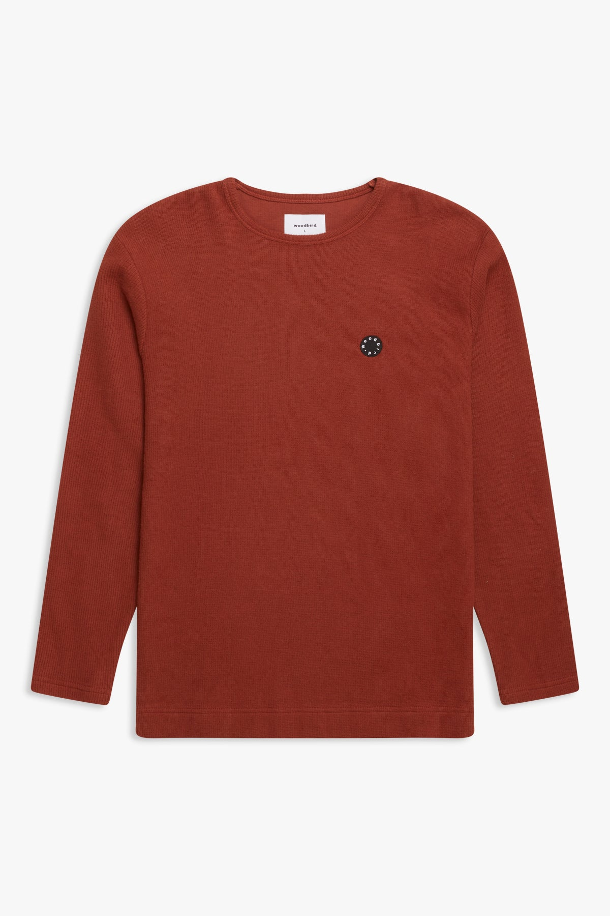 Woodbird Gong Vel Sweat Sweats Clay Brown