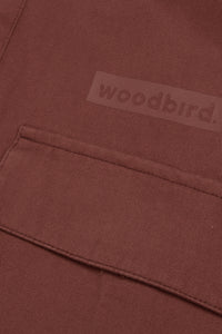 Woodbird Hoxen Work Shirt Shirts Clay Brown