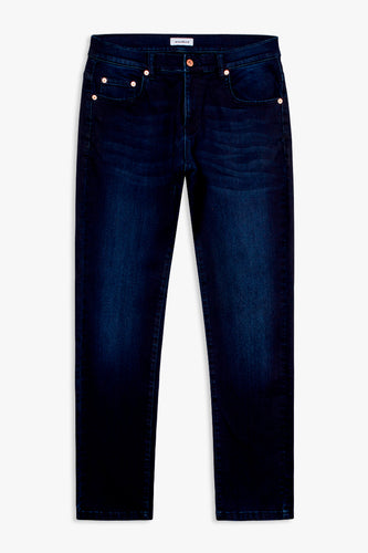 Woodbird Matti Blue Sea Jeans Jeans Deep Blue