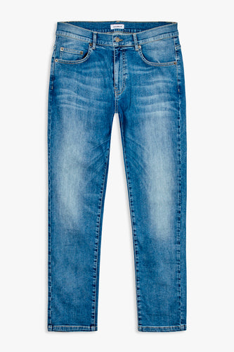 Woodbird Matti Greak Jeans Jeans Midnight Blue
