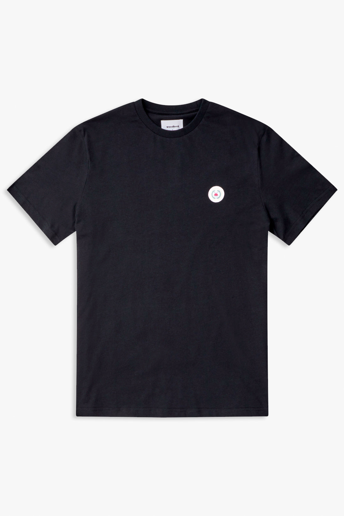 Woodbird Our Jarvis Patch Tee T-Shirts Black