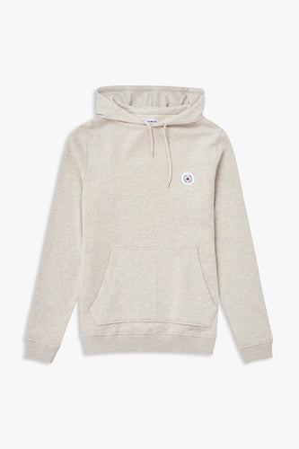 Woodbird Our Shaxy Patch Hood Sweats Snow Melange