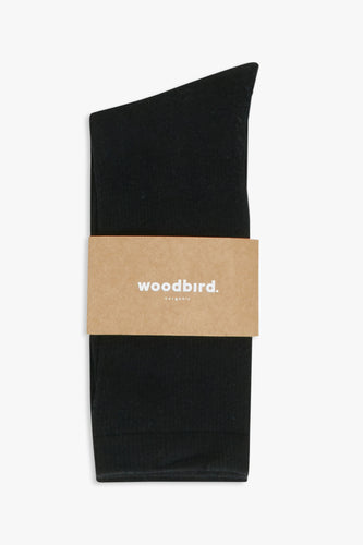 Woodbird Our Tennis Socks Accessories Black