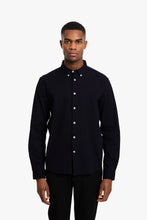Load image into Gallery viewer, Woodbird Trime L/S Shirt Shirts Black