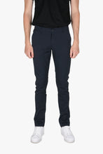 Load image into Gallery viewer, Woodbird Steffen Mel. Pant Pants Navy Mel.