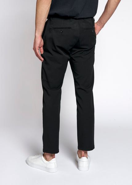 WOOD BIRD Steffen Twill Pant Pants Black