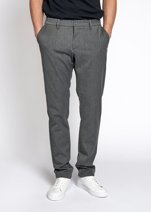 Woodbird Steffen Twill Pant Pants Lt. Grey