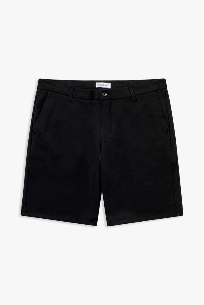 Woodbird Steffen Twill Shorts Shorts Black