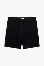Load image into Gallery viewer, Woodbird Steffen Twill Shorts Shorts Black