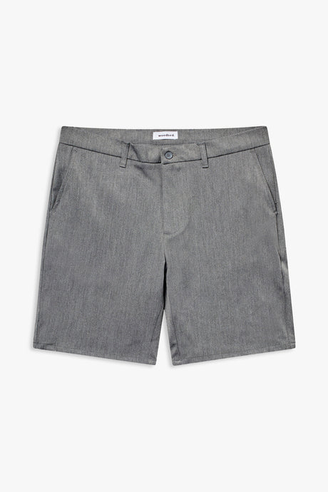 Woodbird Steffen Twill Shorts Shorts Light Grey