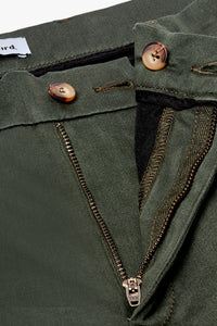 Woodbird Steffen Worker Pants Pants Forrest Green