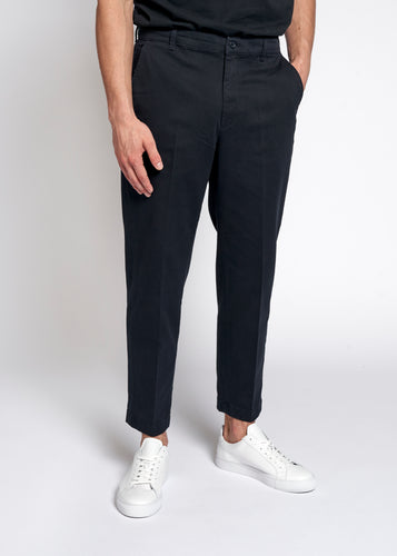 Woodbird Tien Buzz Pant Pants Navy