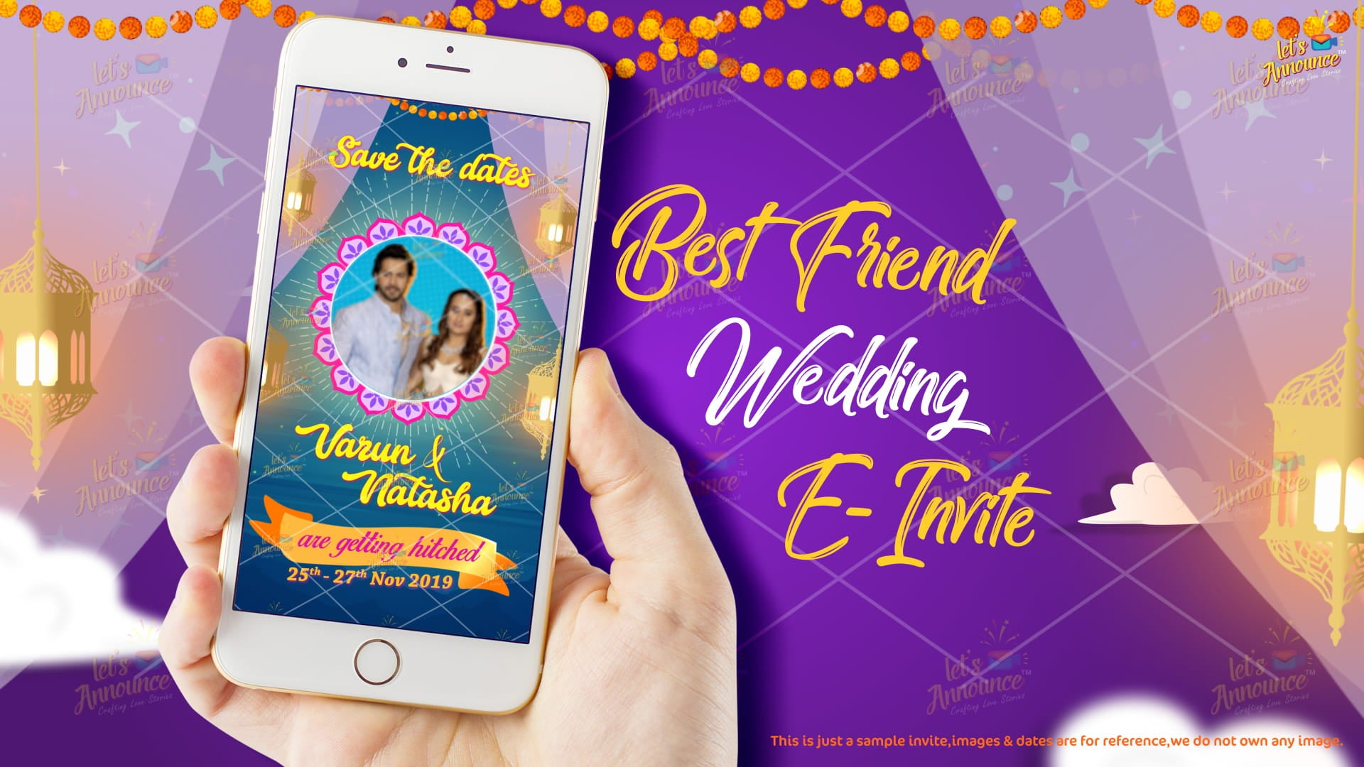 Best Friend Wedding Invite (USD 50$)