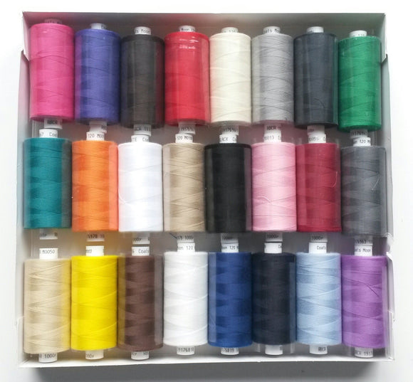 Coats Moon Thread - Brights Box