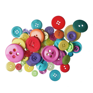 Trimits Mixed Brights Craft Buttons