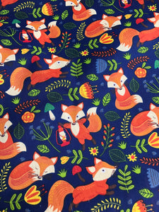 Foxes on Navy