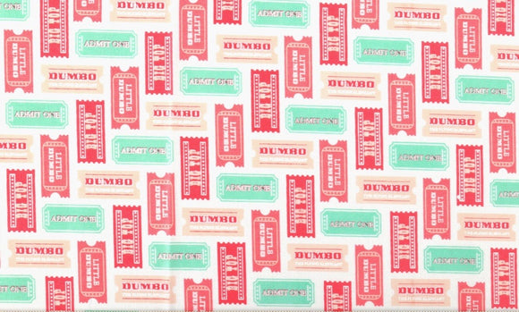 Dumbo Circus Tickets - Pinks