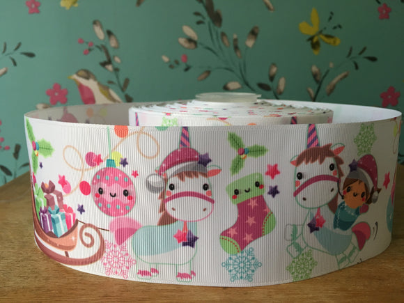 Cute Christmas Unicorn & Friends