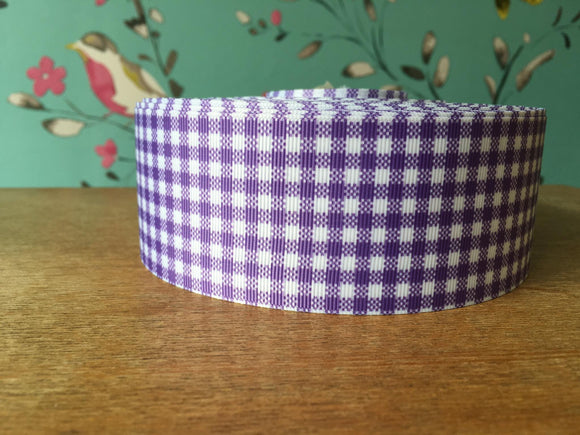 Lilac Gingham Check