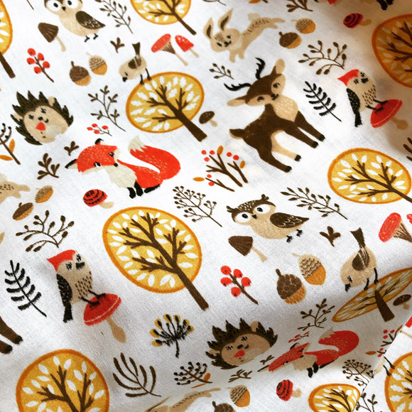 Woodland Friends - Cream