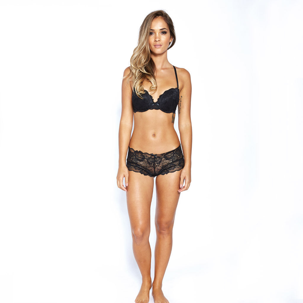 Hollywood Short Bottoms - Black