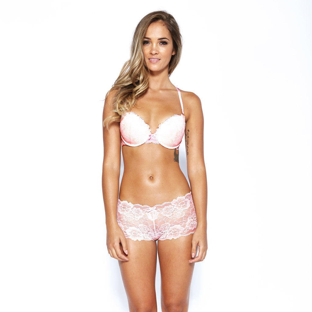 Hollywood Short Bottoms - Light Pink