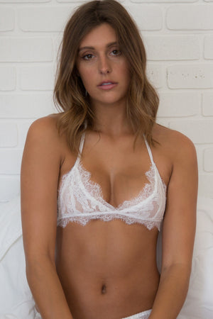 Freedom Bralette - WHITE
