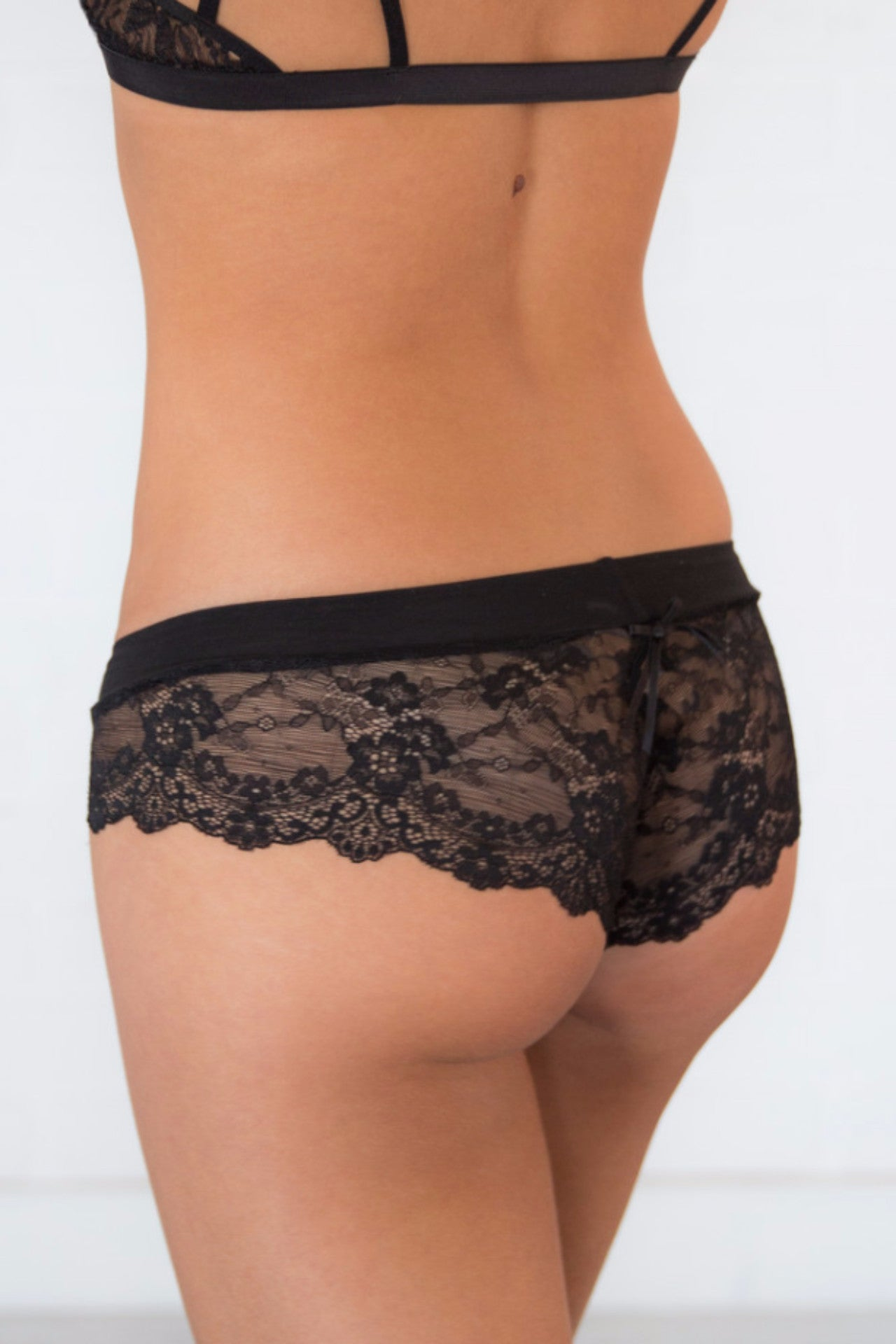 Chandelier Undies - Black
