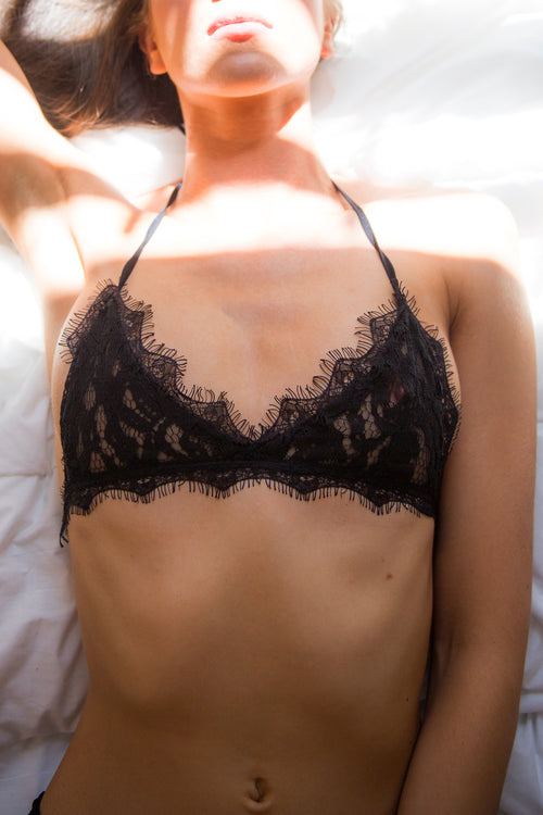 Freedom Bralette - BLACK