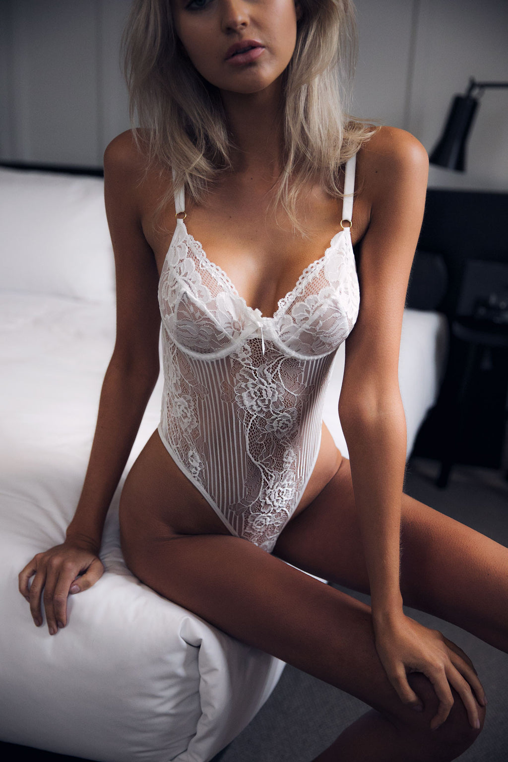 Margot Bodysuit - White