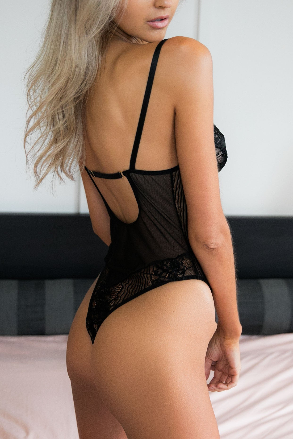 Margot Bodysuit - Black