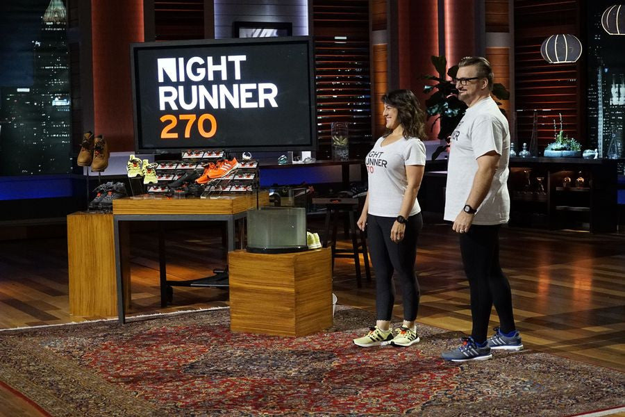 Night Runner 270 Lights Up ABC's Shark Tank