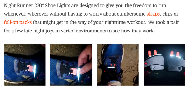 Gizmag Takes Night Runners for a Test Run