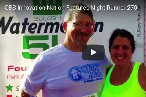CBS Innovation Nation Features Night Runner 270