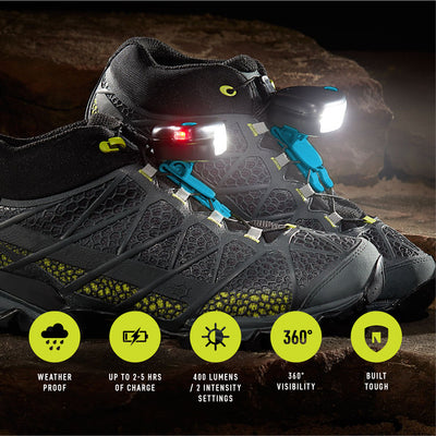 Night Trek X Shoe Lights - Free Shipping in the US