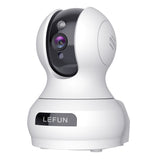 Updated Lefun Video Baby Monitor, 3MP Home WiFi Security Pet Camera with Sound Detection Cloud Service 2 Way Audio, Wireless IP Surveillance Camera with Night Vision