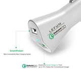 LeFun USB Car Charger 2 Port Quick Charge 2.0