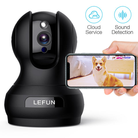 1080P WiFi Wireless IP Camera Smart Home CCTV Security System Baby//Pet Monitor