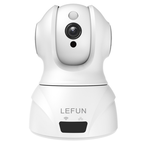 LeFun 1080p Wifi Wireless IP Camera, Two Way Audio Motion Detection Night Vision for Baby Monitor Dog Camera Home Security Camera
