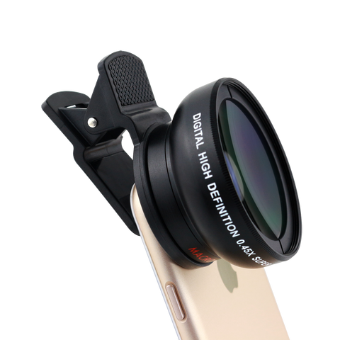 Wide Angle Cell Phone Camera Lens