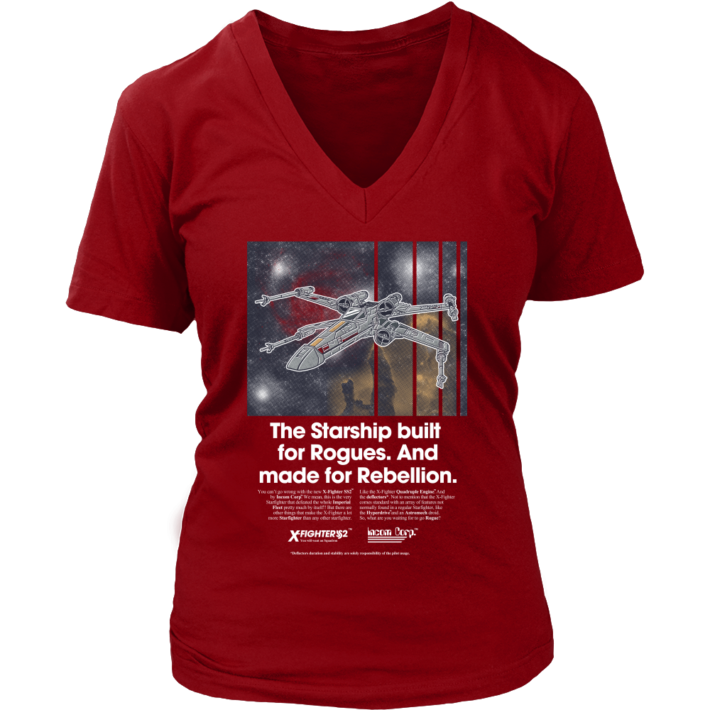 Ad Series : X-Wing Shirt
