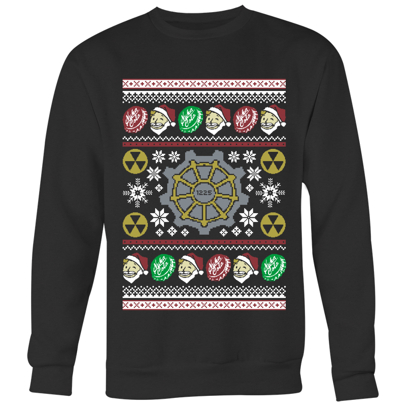 Nuclear Winter Ugly Christmas Sweater
