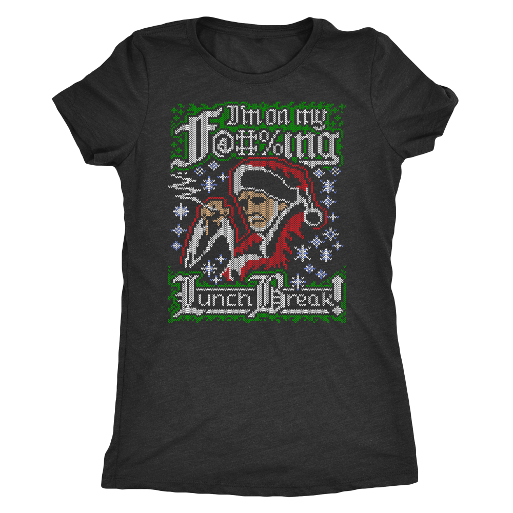 Bad Santa Ugly Christmas Sweater