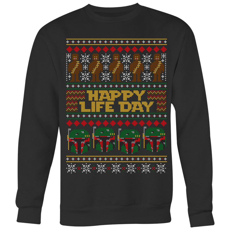 Happy Life Day Ugly Christmas Sweater