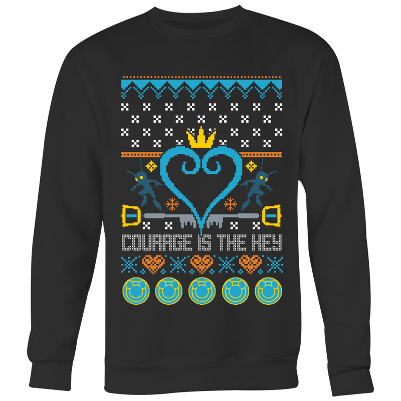 Courage Ugly Christmas Sweater