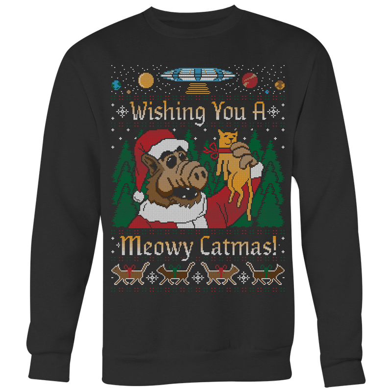 Meowy Catmas Ugly Christmas Sweater