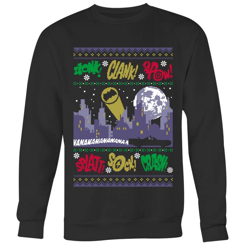 Silent Dark Knight Ugly Christmas Sweater